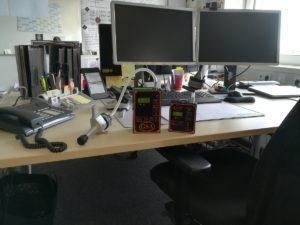 Staubmessung am Arbeitsplatz