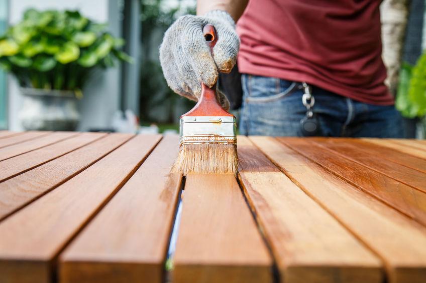 Holzschutzmittel Auftrag