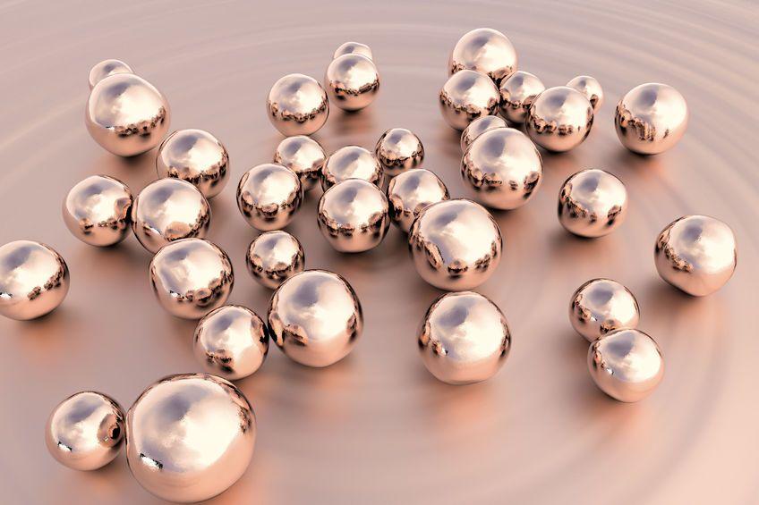 Nanopartikel aus Kupfer