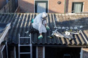 Asbestentsorgung Dachmaterial